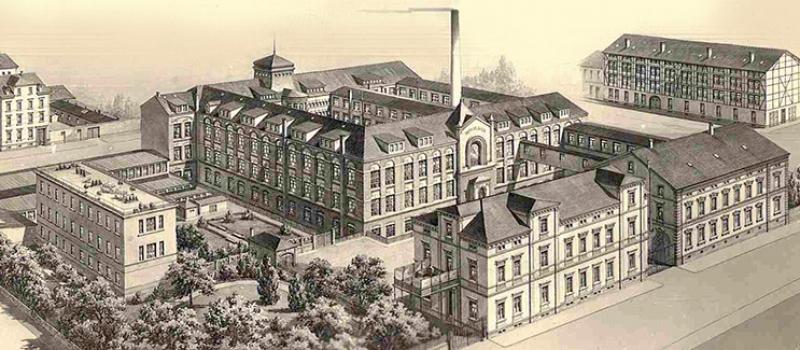 Gebäude 1945